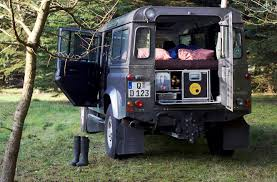 100 Semi Truck Motorhome DBox Turns Your Land Rover Defender Into A Tiny The Drive
