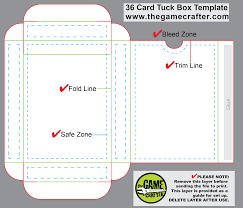 36 Poker Card Tuck Box