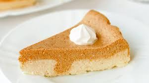 Crustless Pumpkin Pie by Crustless Pumpkin Pie Low Carb Betterhealthkare