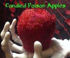 Poisoned Halloween Candy by Candied Poison Apples 4 Steps With Pictures