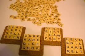 diy coasters made from scrabble tiles news palo alto