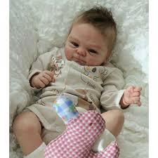 18 Handmade Sleeping Reborn Baby Doll Realistic Girl Boy Silicone