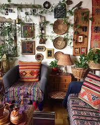 bohemian decor for hippie boho interior