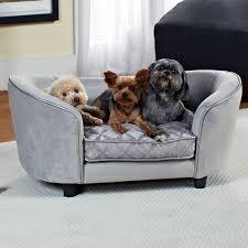 Snoozer Overstuffed Sofa Pet Bed beasleys couch microsuede dog bed hayneedle