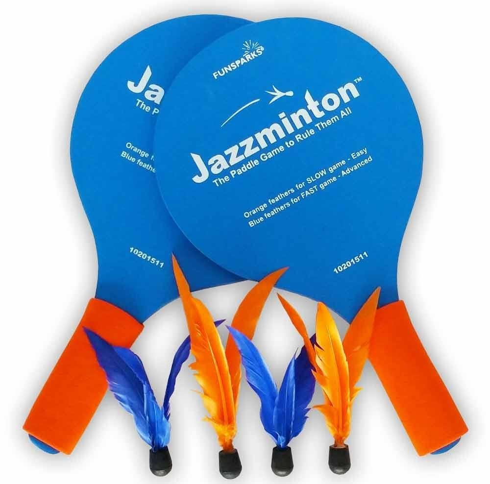 Funsparks Jazzminton Paddle Game
