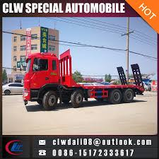 China JAC 8*4 Flatbed Tow Truck For Sale - China Flatbed Truck ...