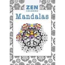 Zen Coloring Mandala Adult Colouring Book