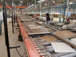 production line warehouse of supplytiles