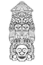 Aigle Des Oiseaux Main Blanche Noir Tiré Doodle Ethnique Motifs