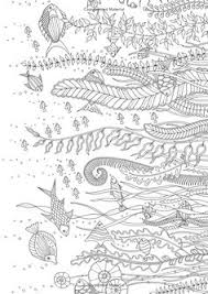 Lost Ocean 36 Postcards To Color And Send 9780143110217 Johanna Basford