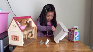 Calico Critters Bunk Beds by Calico Critters 3 Bunk Beds And Stroller Unboxing Part 1 Youtube
