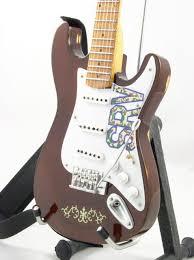Miniature Guitar Stevie Ray Vaughan LENNY Amp Strap