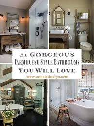 55 Cozy Small Bathroom Ideas For Your Remodel 21 Gorgeous Farmhouse Style Bathrooms You Will