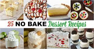 easy no bake dessert recipes 25 no bake dessert ideas pinkwhen
