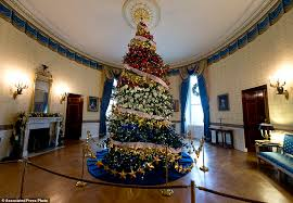 This Years White House Christmas Tree Is 18 And A Half Feet Tall Dedicated To