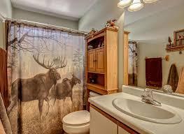 fortable Moose Shower Curtains Inspiration Bathtub