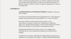 Pharmacy Technician Resume Awesome Tech Template Externship Examples