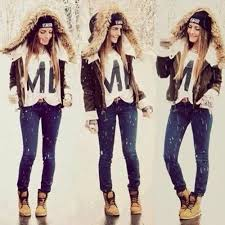 Winter Fashion Outfits Girls Clothes