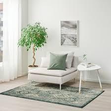 vonsbäk teppich kurzflor grün hier entdecken ikea österreich
