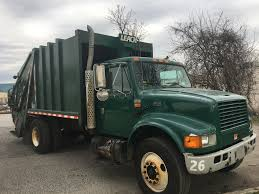 USED 2002 INTERNATIONAL 4700 GARBAGE TRUCK FOR SALE IN NY #1022