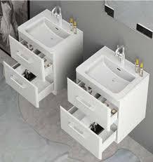 badmöbel badezimmermöbel 60cm waschbecken mit unterschrank