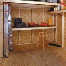 Shed Bench by Accessories For A Beautiful U0026 Fully Functional Shed