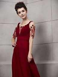 prom dress dark red and review clothing brand 24 dressi