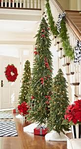 Our Magnificent Down Swept Slim Pine Christmas Tree Is Such A Space Saving Wonder 3 Trees Approximate The Footprint Of Just Single Standard Sized