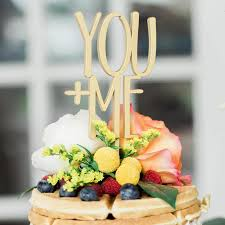 You And Me Rustic Wedding Cake Topper Lillian Grace Bridal Boutique