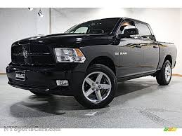 2009 Dodge Ram 1500 Sport Crew Cab 4x4 In Brilliant Black Crystal ...