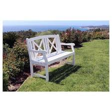 outdoor benches target