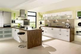 Fabulous Modern Kitchen With White Appliances Impressive
