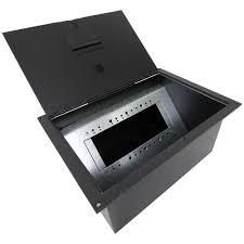 Fsr Floor Boxes Fl 600p by Stage Floor Box