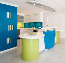 Awesome Ideas For Kitchen Color Set Combination Decorating Design Enchanting Blue Green