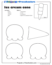 Free Printable Ice Cream Cone Coloring Page