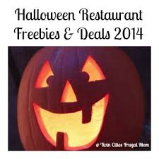 Chipotle Halloween Special Mn by Halloween Restaurant Freebies U0026 Deals 2014 Twin Cities Frugal Mom