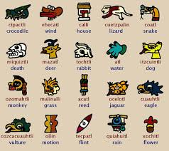These Are Examples Of The Tribal Language Aztecs Symbols Sometimes Used
