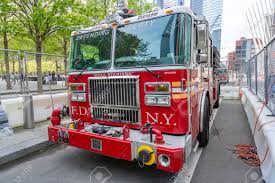 100 Fire Truck Museum FDNY Ladder 10 Outside September 11 Memorial And
