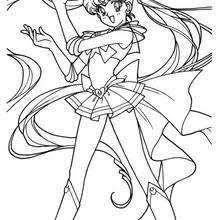 Two Warrior Girls Sailor Moon