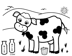Cow Coloring Page New Pages Inspiring