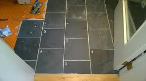 removing dried mortar from slate tiles orbited by nine dark moons