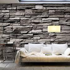 realistische steinwand fototapete geruchsfrei oeko