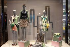 Brand Acrylic Plastic Store Window Displays Fashion Visual Merchandising