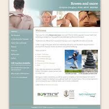 Bowen Technique Website Design HealthHosts Websites For Therapists