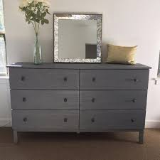 tarva 6 drawer dresser find more ikea tarva 6 drawer chest dresser in weathered gray