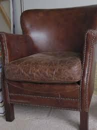restoration hardware professor s leather chair household fun
