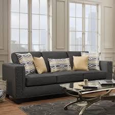 American Furniture Manufacturing Sofas Paradigm Smoke 1700 Sofa