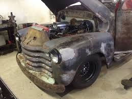 100 Chevy Hot Rod Truck Check Out This Rat Pickup Photo Of The Day The Fast