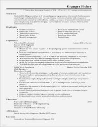 Resume Examples Server Position Beautiful Template For Manager Simple Customer