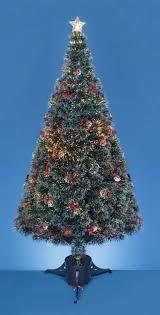 6ft Fibre Optic Christmas Tree Black by Fibre Optic Christmas Tree Uk Only Christmas Lights Decoration
